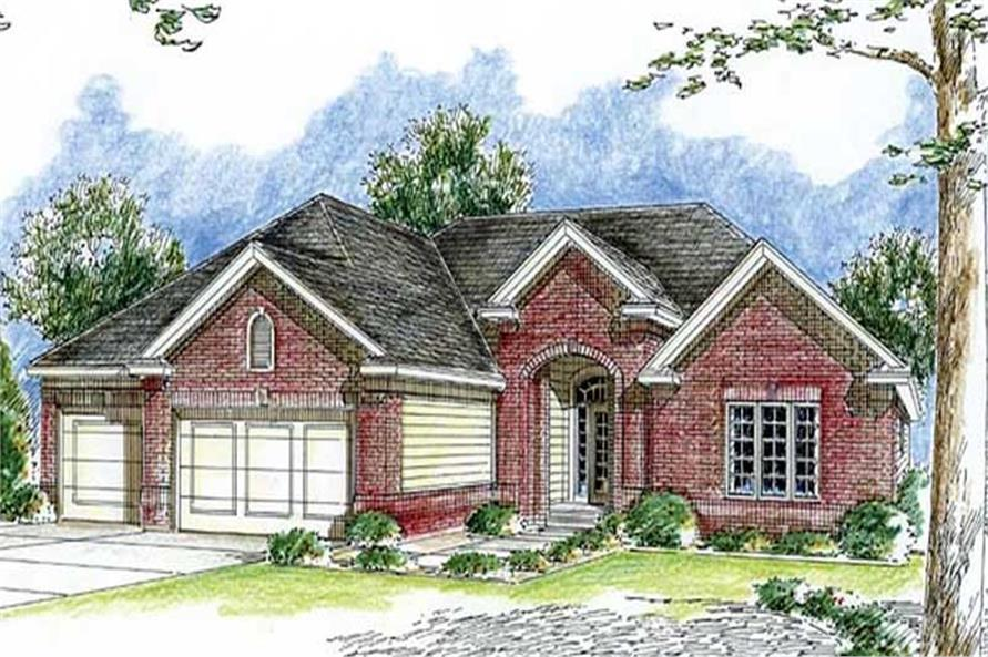 Main image for house plan # 20286