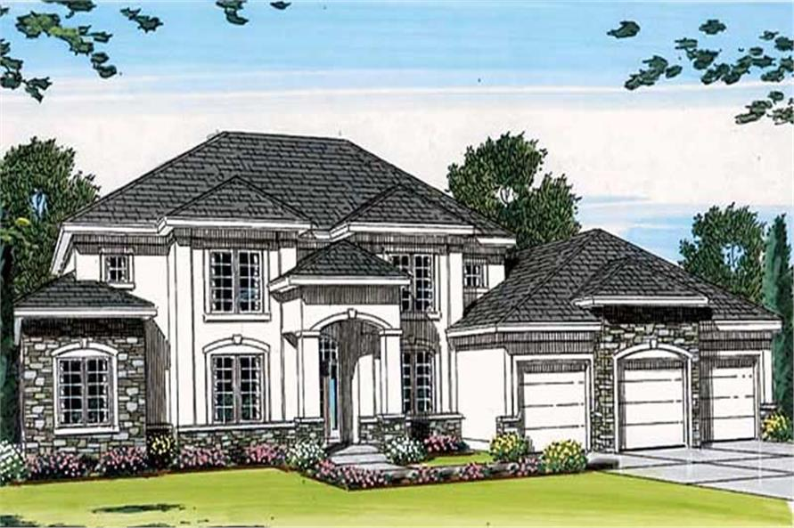 Main image for house plan # 20268