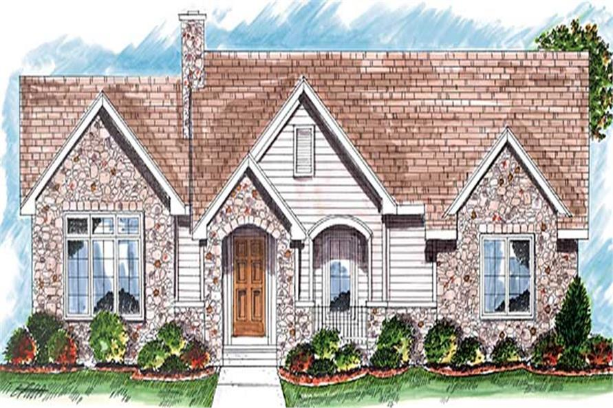 Main image for house plan # 20246