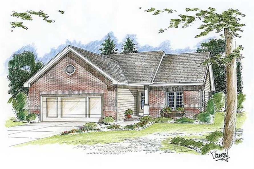 Main image for house plan # 20188