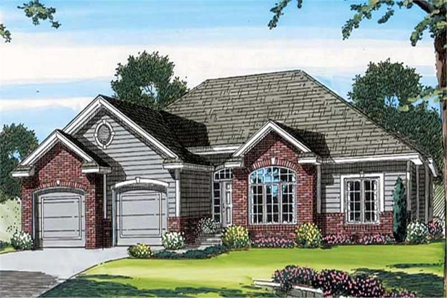 Main image for house plan # 20182