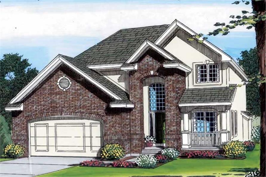 Main image for house plan # 20345