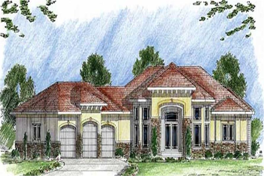 Main image for house plan # 20310
