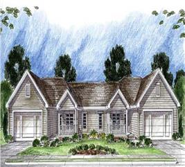 House Plan #100-1024