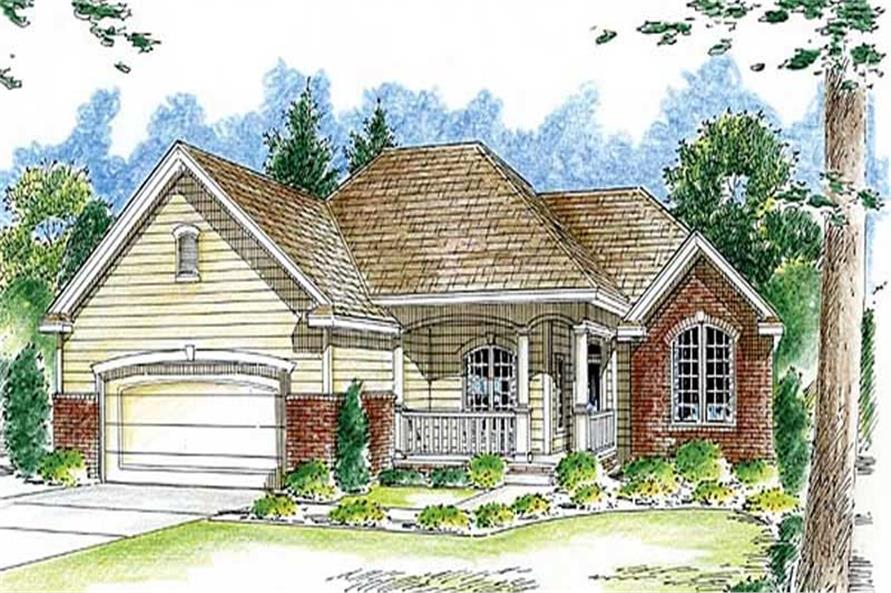 Main image for house plan # 20287