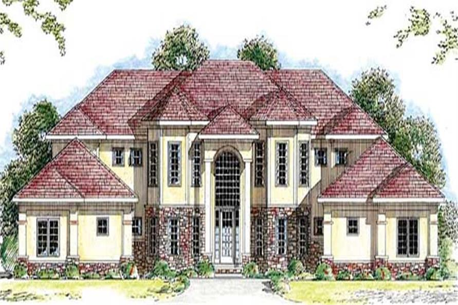 Main image for house plan # 20266
