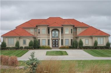 4-Bedroom, 4114 Sq Ft Luxury Home Plan - 100-1026 - Main Exterior