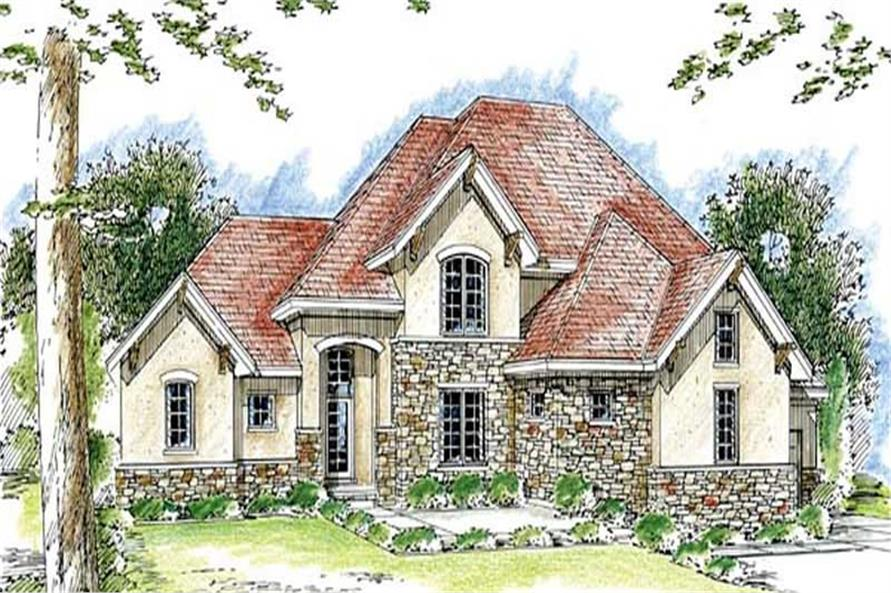 Main image for house plan # 20264