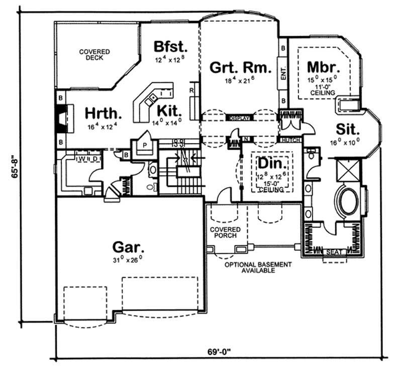 Craftsman ranch home with 1 bedroom 2862 sq ft house for 100 sq ft bedroom