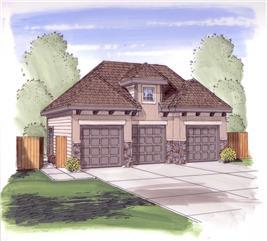 House Plan #100-1036