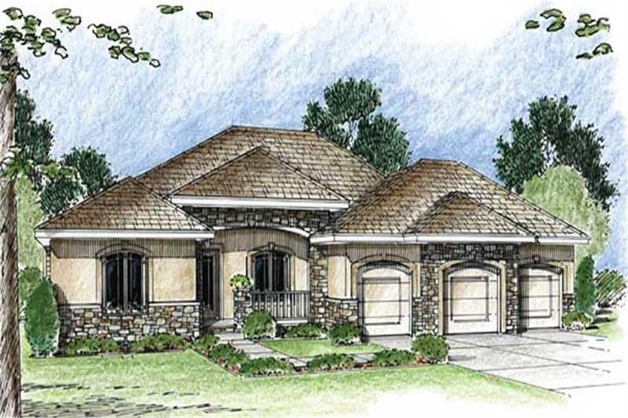 Main image for house plan # 20317