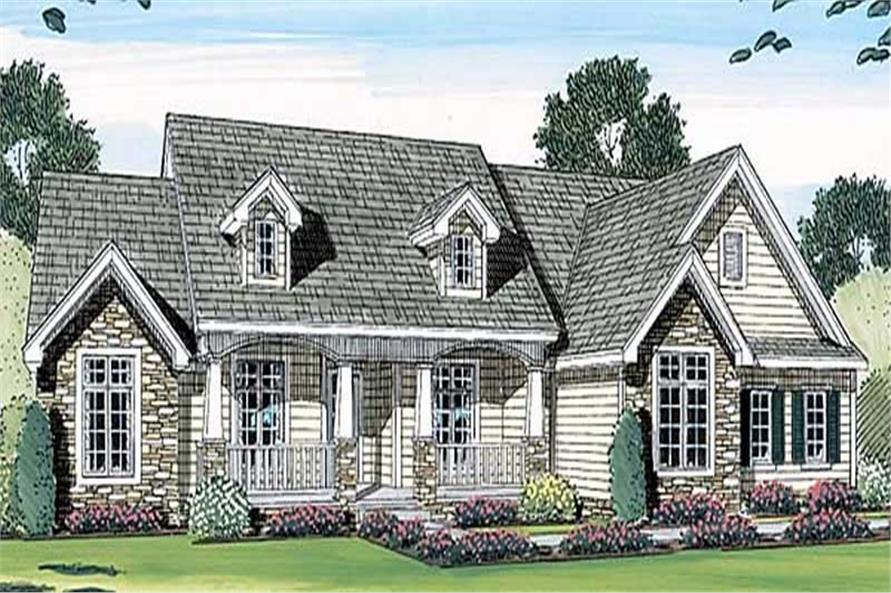 Main image for house plan # 20304