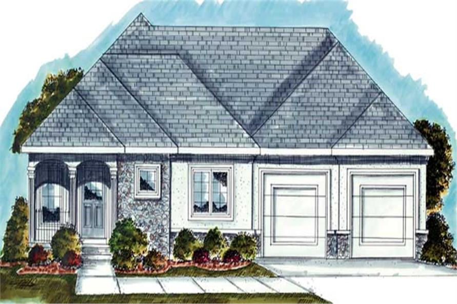 Main image for house plan # 20240