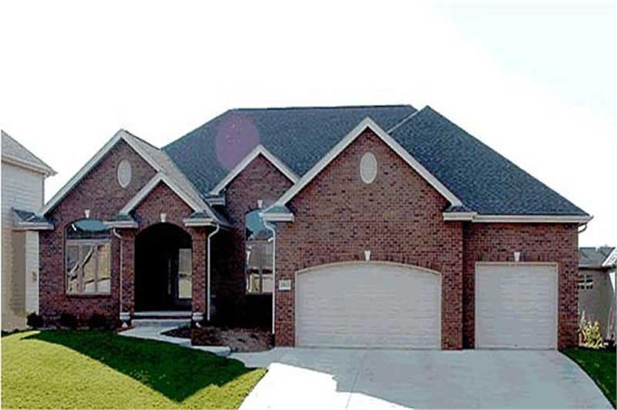 Main image for house plan # 20187