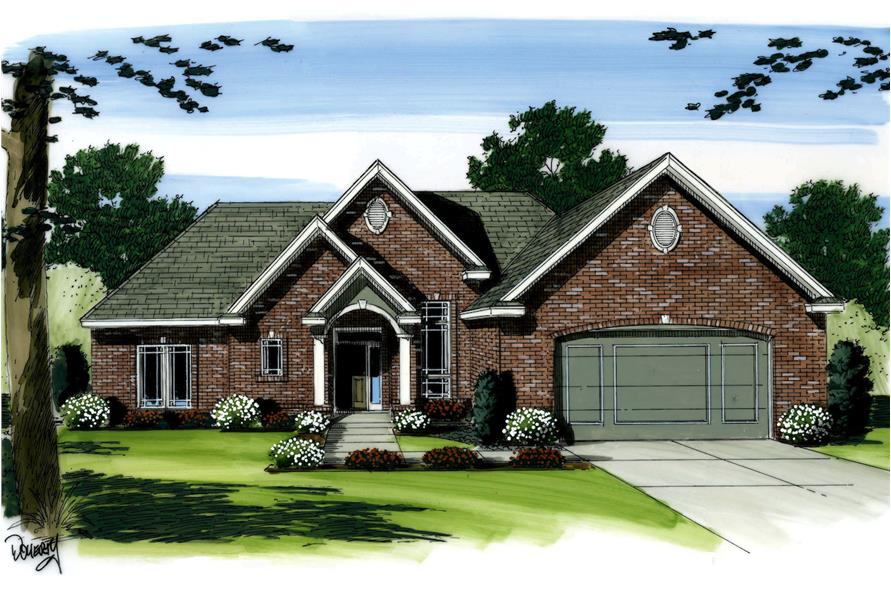 Main image for house plan #100-1063