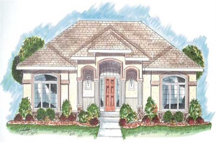 Mediterranean - Ranch Home with 2 Bedrooms, 1772 Sq Ft ...