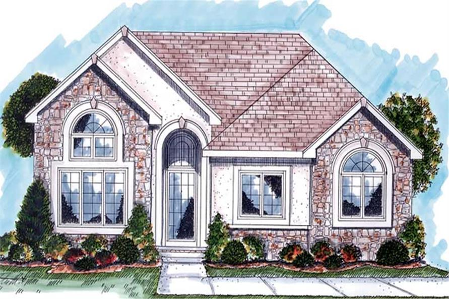 Main image for house plan # 20256