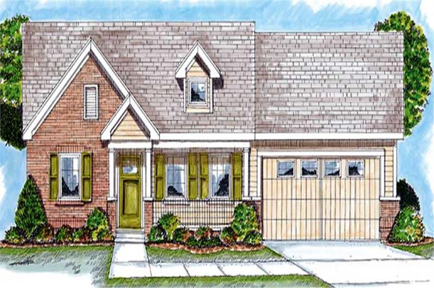 Main image for house plan # 20237