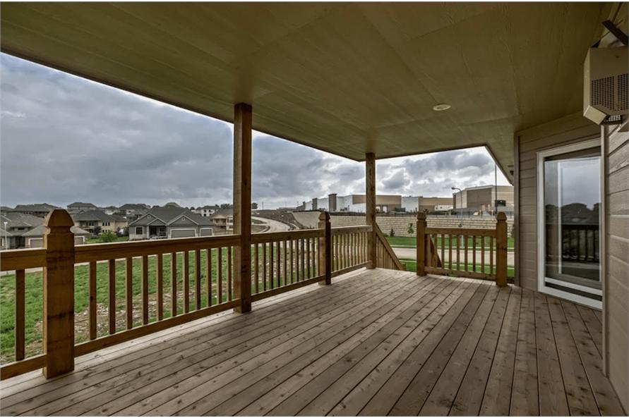 100-1071: Home Exterior Photograph-Deck