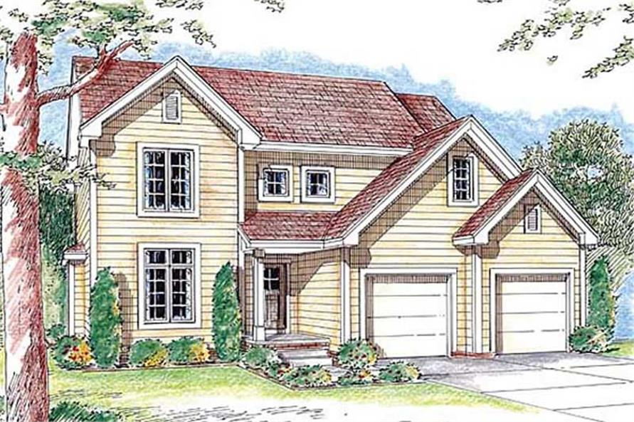 Main image for house plan # 20191