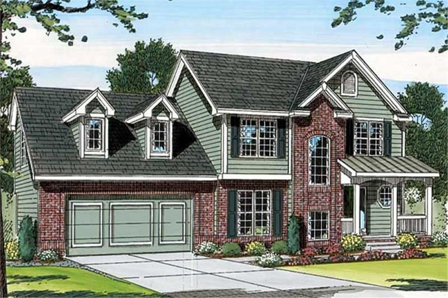 Main image for house plan # 20184