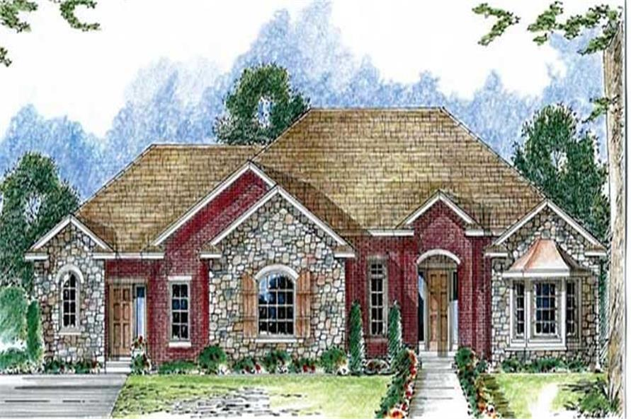 Main image for house plan # 20281