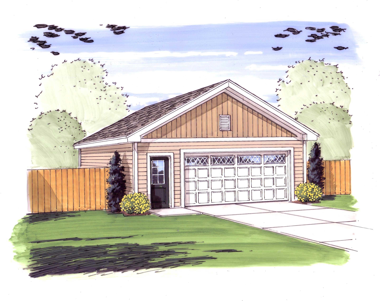 Garage style garage with 3 car 0 bedroom 1000 sq ft for 1000 sq ft garage plans