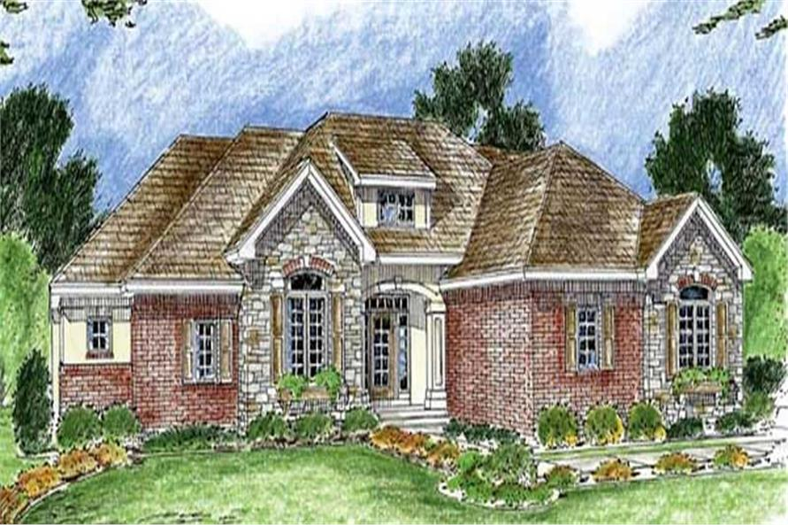 Main image for house plan # 20280
