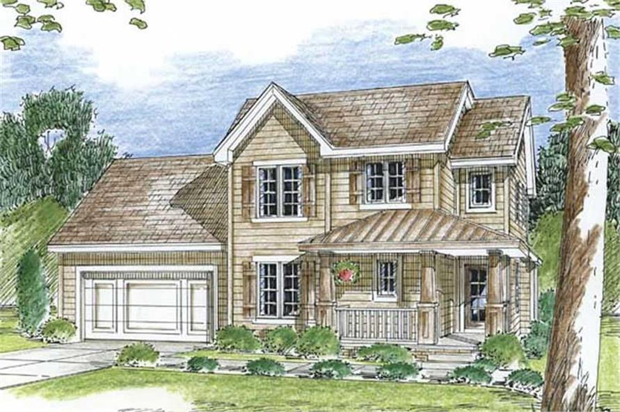 Main image for house plan # 20206
