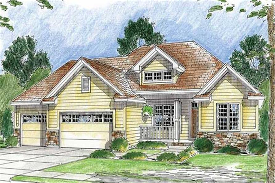 Main image for house plan # 20209