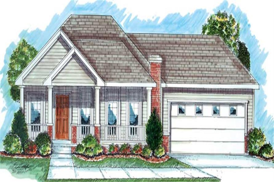 Main image for house plan # 20222