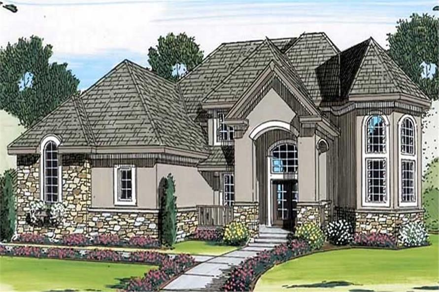 Main image for house plan # 20342