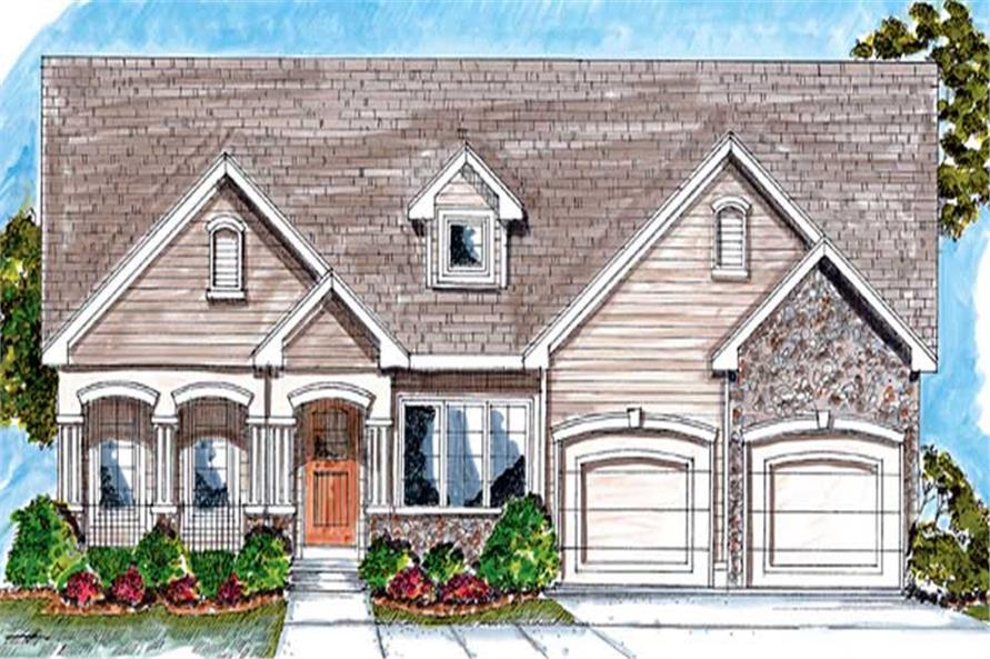 Main image for house plan # 20230