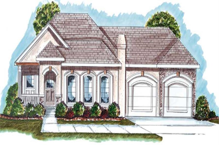 Main image for house plan # 20213