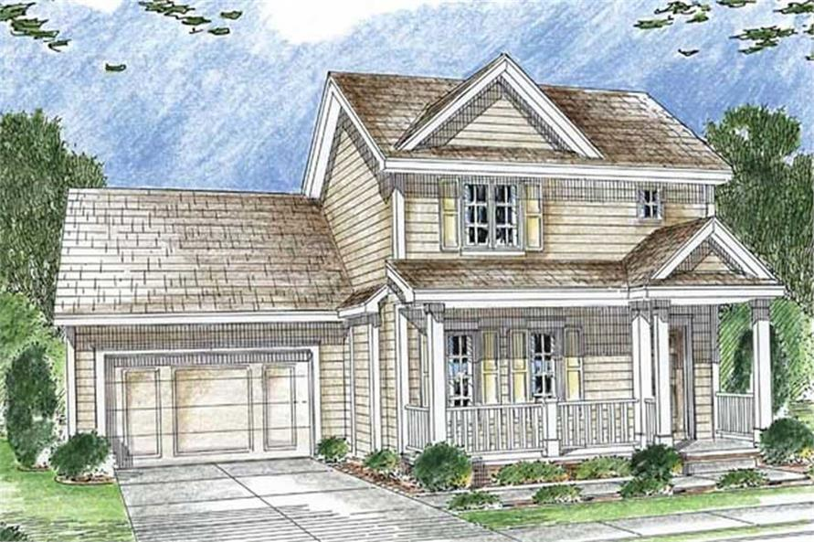 Main image for house plan # 20202