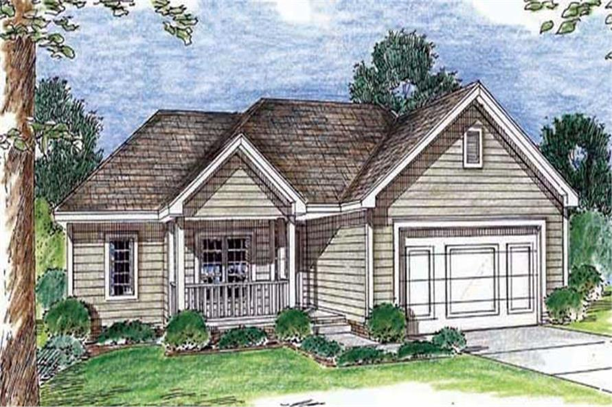 Main image for house plan # 20196