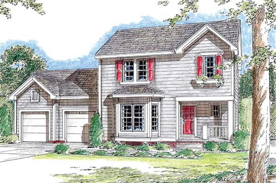 Main image for house plan # 20193