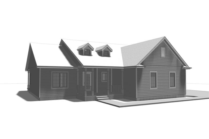 100-1102: Home Plan 3D Image