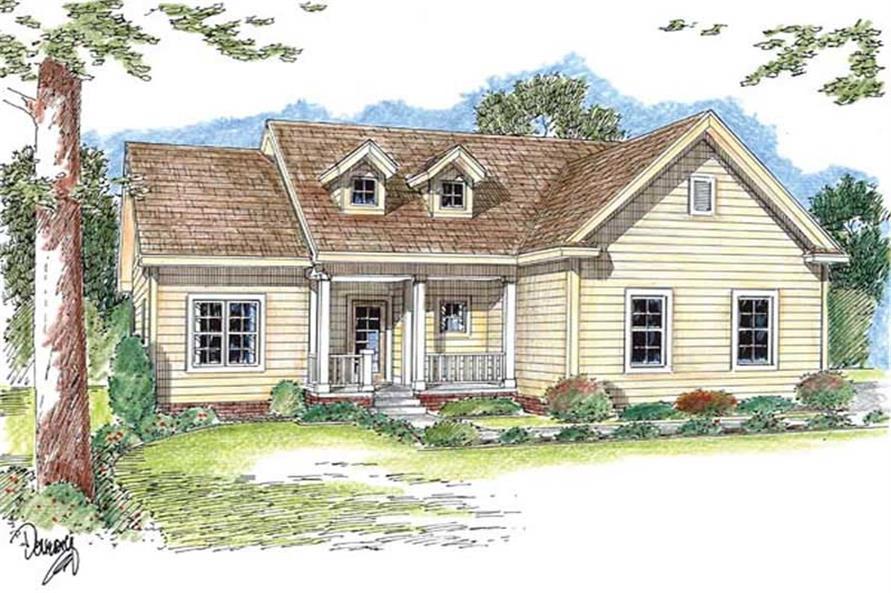 100-1102: Home Plan Rendering