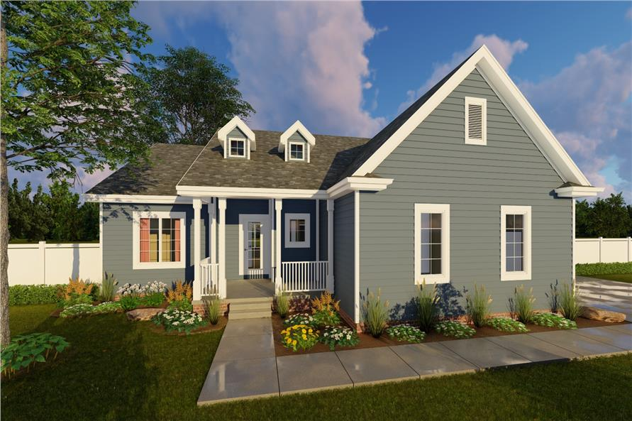 Main image for house plan # 20190