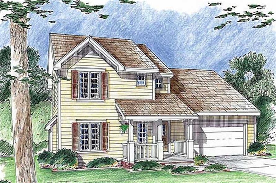 Main image for house plan # 20200