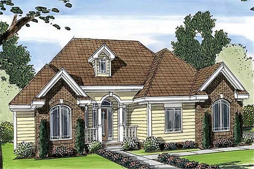 Main image for house plan # 20350