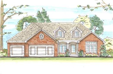 Ranch house plans between 3400 and 3500 square feet for 3400 square feet house plan