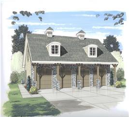 House Plan #100-1107