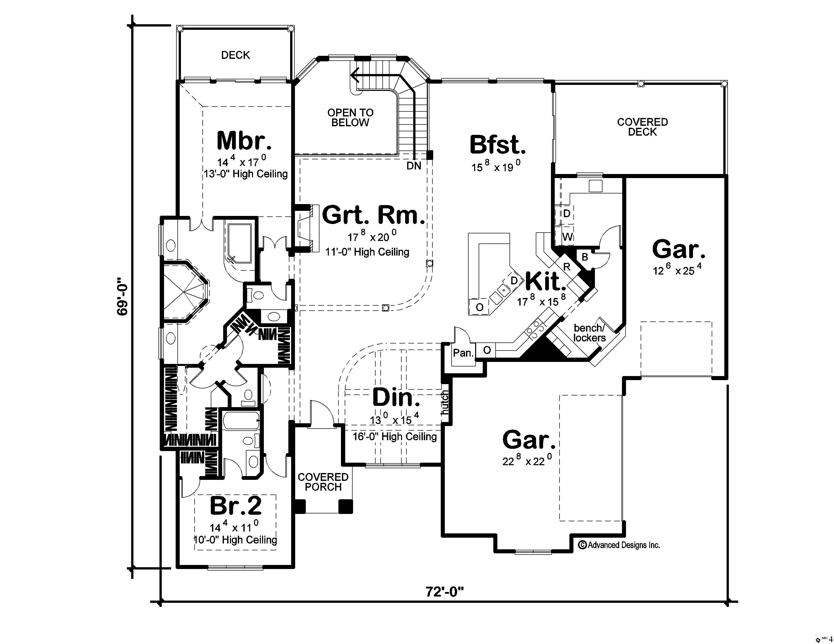 French Mediterranean Home With 4 Bedrooms 4796 Sq Ft