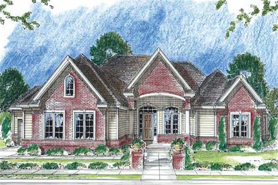 Main image for house plan # 20262