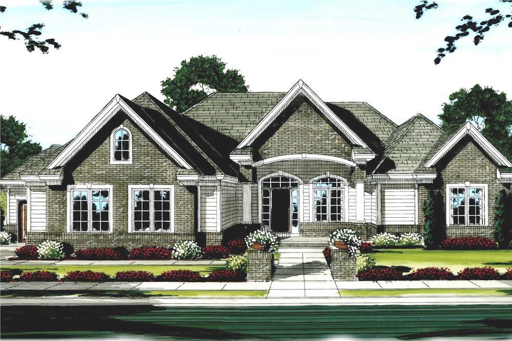 Main image for house plan # 100-1111