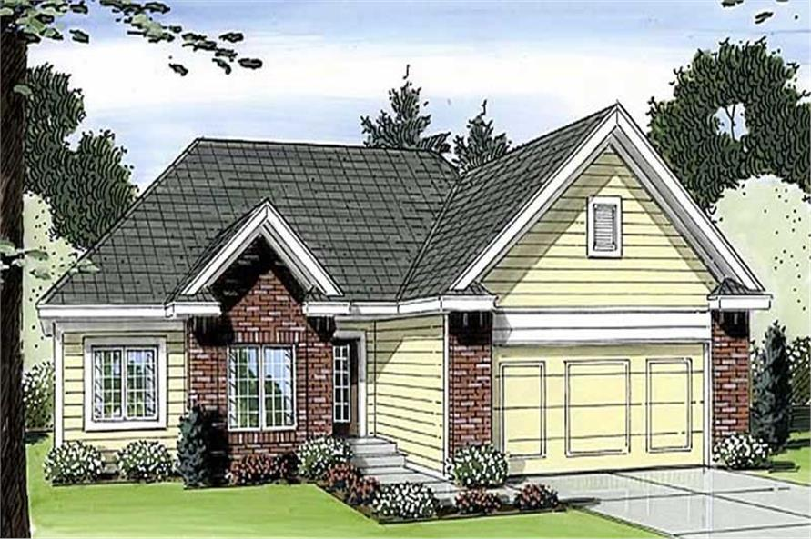 Main image for house plan # 20347
