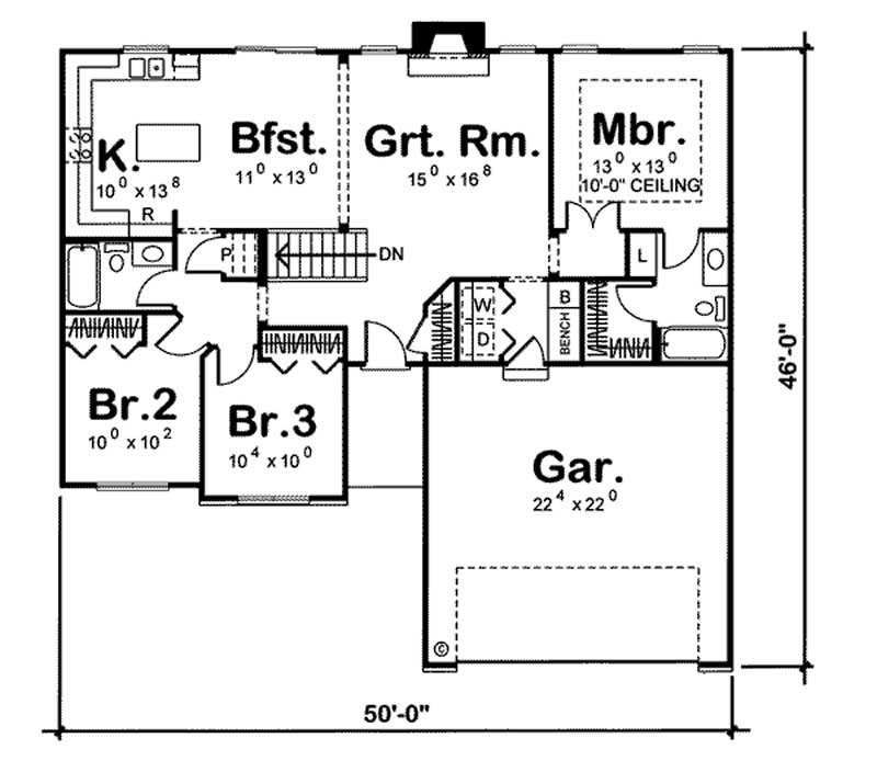 Ranch small home with 3 bedrooms 1386 sq ft house for 100 sq ft tiny house