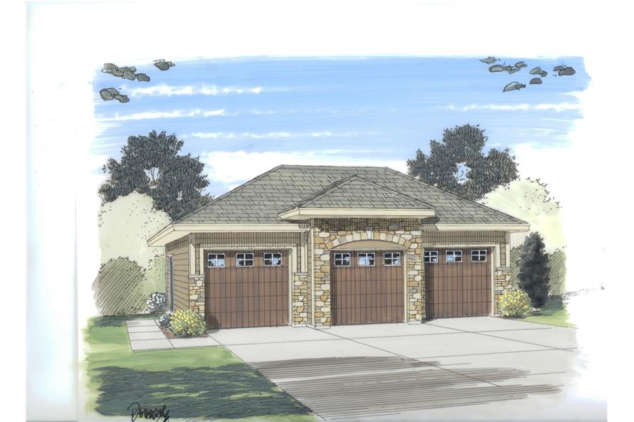 Main image for house plan # 20301